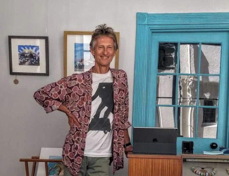 Ian Rolls Artist from Jersey